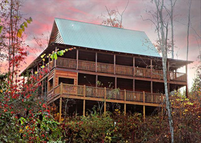 Paradise, Soaring, Vaulted Ceilings, Stacked Fireplace, Wrap-around Porches - Image 1 - Sevierville - rentals