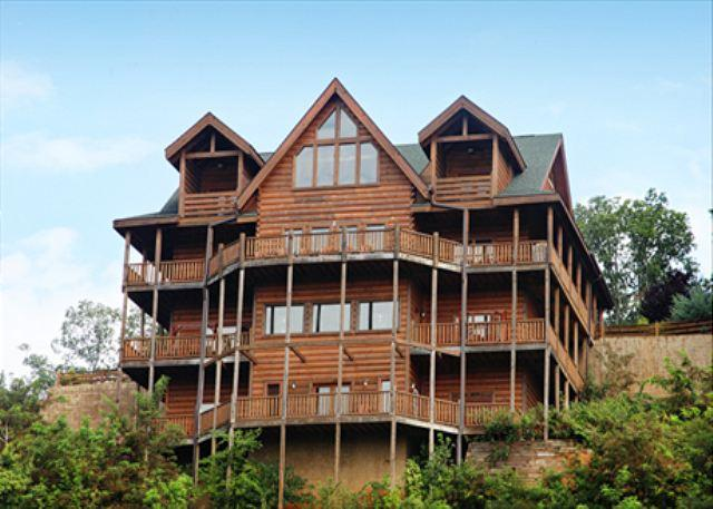 Large Group Cabin, Sleeps 48, In Cabin Pool, Theater Room W/ Stadium Seats - Image 1 - Sevierville - rentals
