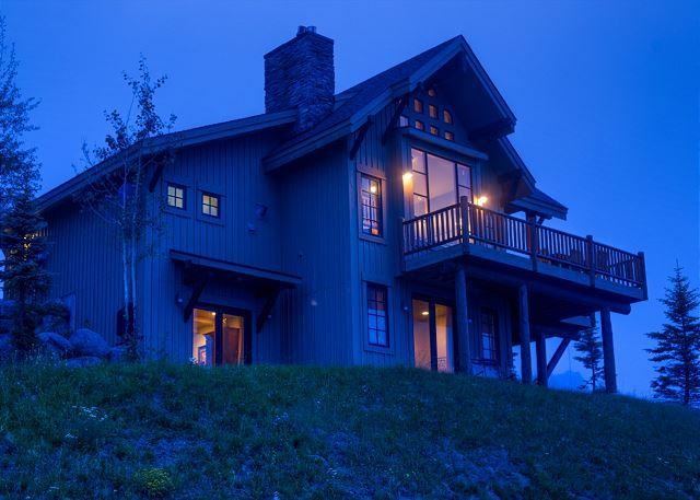Spectacular views and more in this lux home on the slopes of Moonlight Basin - Image 1 - Big Sky - rentals