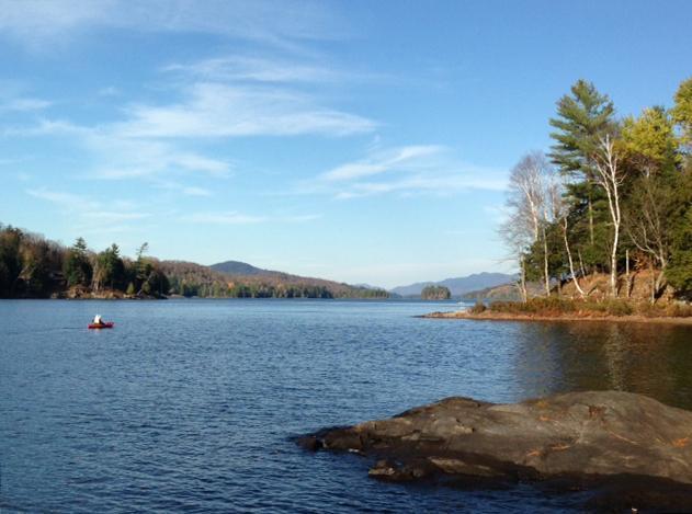 View of Long Lake from your dock - Long Lake_Adirondacks Rental w/Hot Tub - Long Lake - rentals