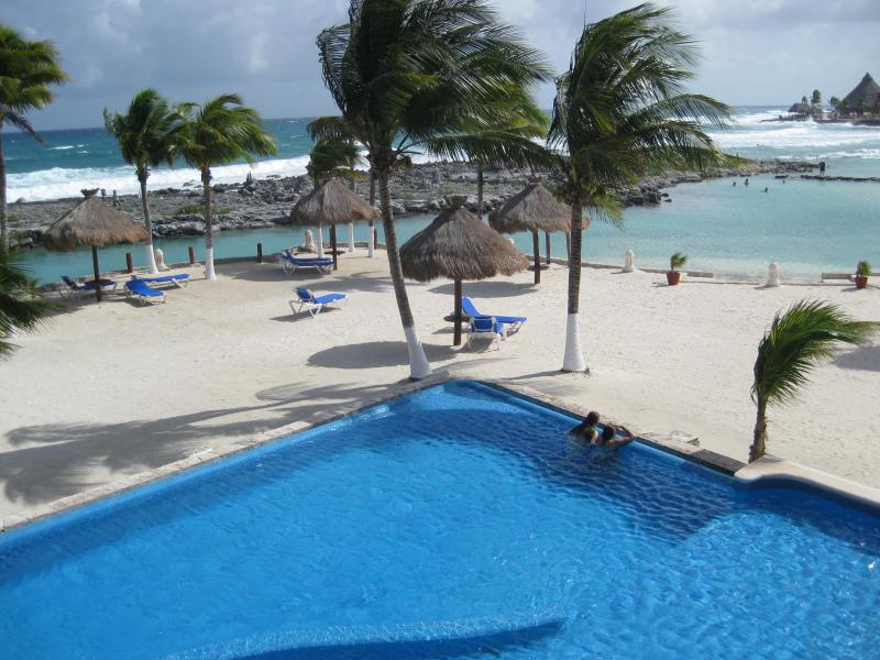 Infinity pool on the ocean - PANORAMIC OCEAN VIEW! - Puerto Aventuras - rentals