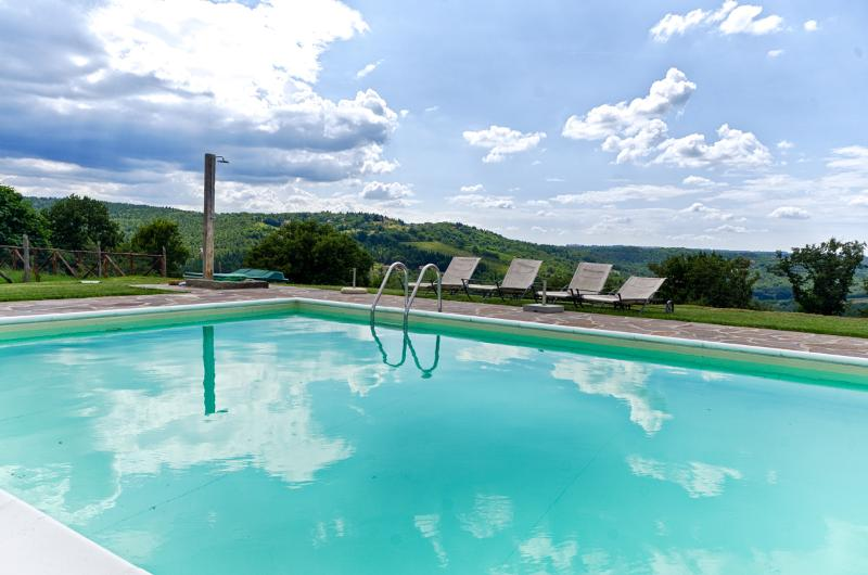 pool - Sangiovese country house with pool in Chianti area - Tavarnelle Val di Pesa - rentals