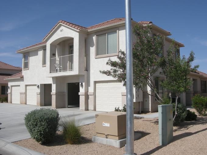 Front Of Condominium. - Mesquite Nevada Condominium Vacation Rental - Mesquite - rentals