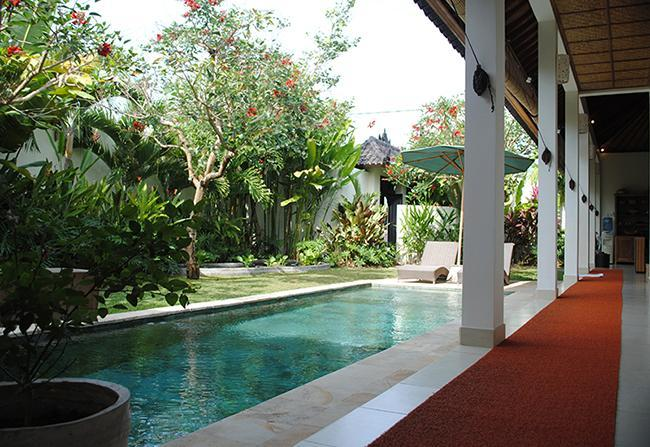 The pool and gardens are the focus of the villa. - Villa Romantica -set in romantic rice fields -Ubud - Ubud - rentals
