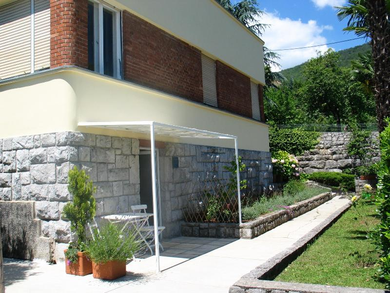 Terrace with sea view - Studio in Opatija center with terrace and sea view - Opatija - rentals