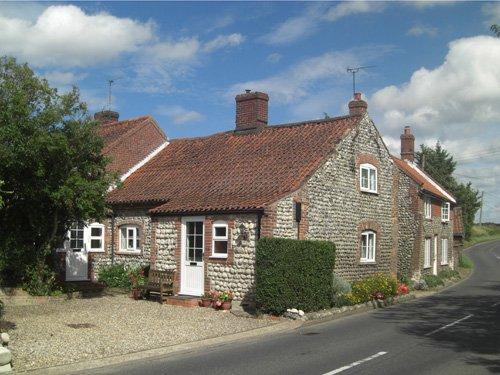 View towards the property - BUCN8 - Roughton - rentals