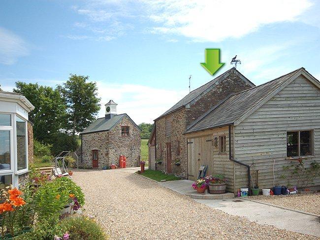 View towards the property - WHIIN - Yelverton - rentals
