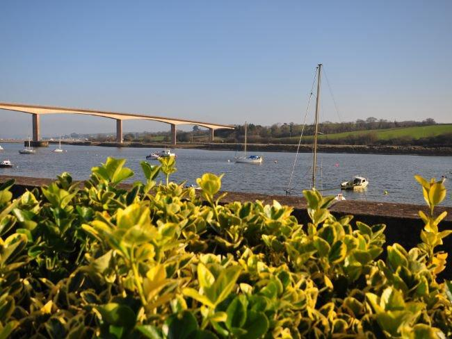 View from enclosed garden - TIDEL - Bideford - rentals