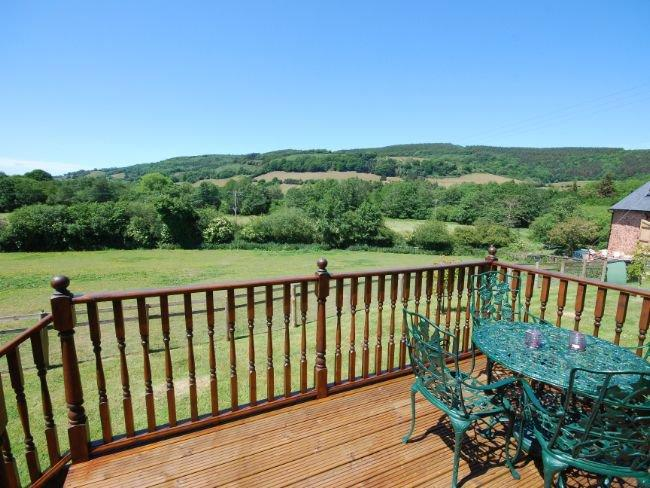 Views from the decked area  - COWBR - Minehead - rentals
