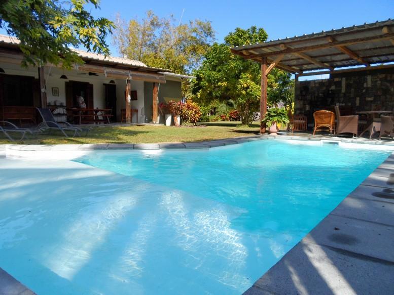 La Case Najoli in Le Morne, 100 m to beach, pool - Image 1 - Le Morne - rentals