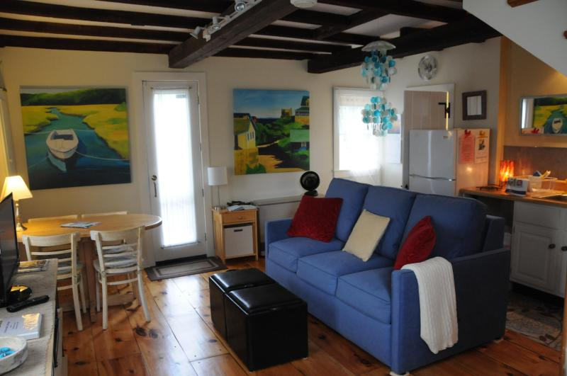 Unit #1 view from Front Door - Periwinkle Cottage - Units 1 & 2 - 1BR, sleeps 2 - Rockport - rentals