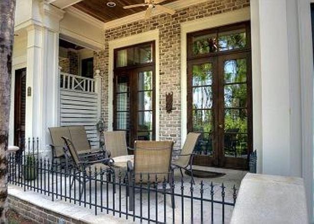Front Patio - Vacation in this Le Jardin Townhome at the heart of the Village! - Sandestin - rentals