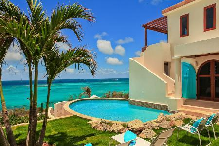 Spectacular Villa Black Pearl on Shoal Bay East boasts exquisite views & just steps to the beach - Image 1 - Shoal Bay Village - rentals