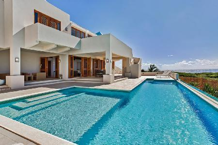 White Cedars - Calming villa with breathtaking views only a short drive to the beach - Image 1 - Anguilla - rentals
