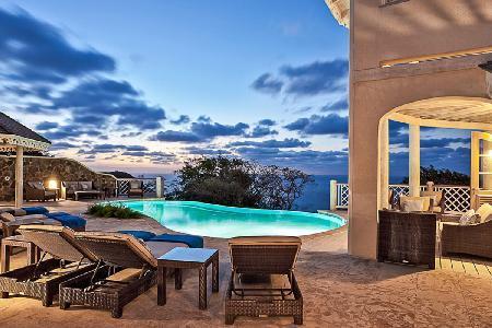 Mer Soleil - Stunning villa with pool, mesmerizing sea views & contemporary design - Image 1 - Cap Estate - rentals