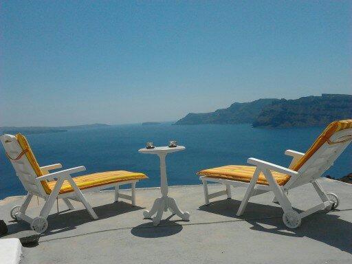 Blue Sky Villa amazing view Oia - Image 1 - Santorini - rentals