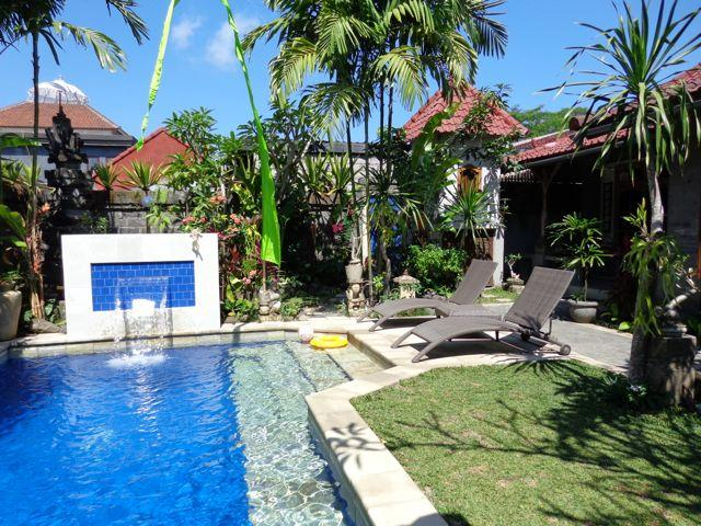 Angel Villa Mas Ubud. Relax, check emails or contemplate the view from the bale - Angel Villa Mas Ubud Pool / Jepun suite Real Bali - Ubud - rentals