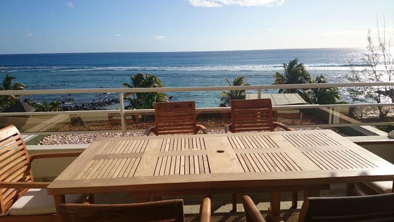 Tamarin Beach Apartments Mauritius: View of inter-connected terrace - 10, Tamarin Beach Apartments Mauritius - Tamarin - rentals