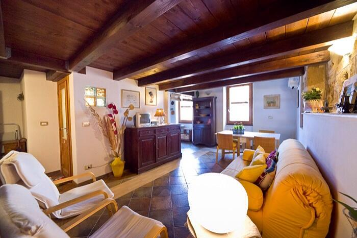 sitting room ,air condit,heating ,tv - Best located in Old Town closewalk to the sea - Alghero - rentals