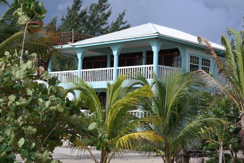 View from beach - Beachfront Suites - Placencia - rentals