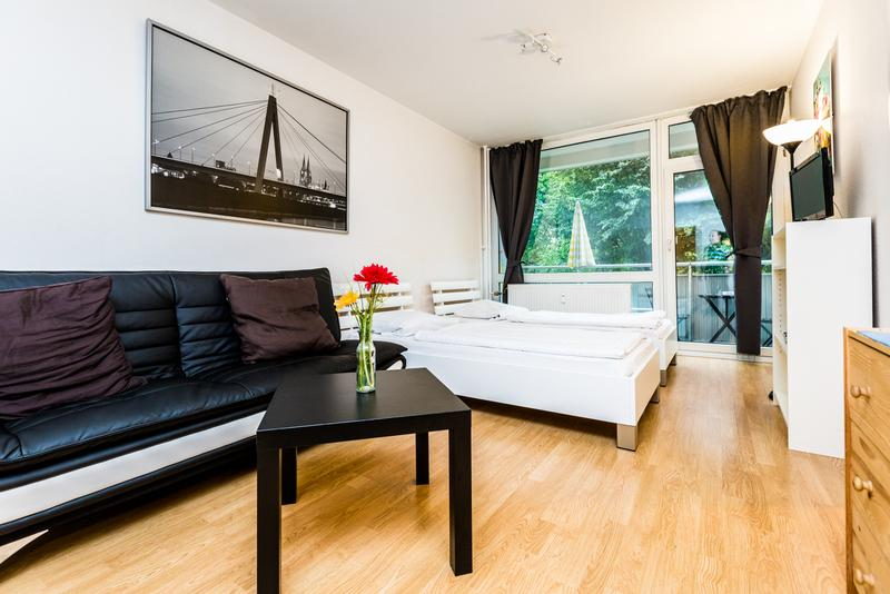 beautiful apartment with two rooms - 04 Vacation Apartment Cologne Deutz near Fair - Cologne - rentals
