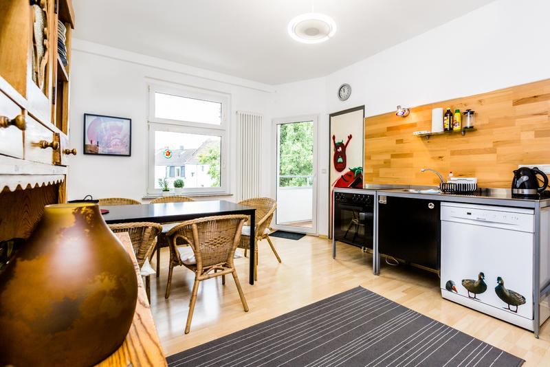 Modern design apartment with four rooms - 55 Spacious apartment in Cologne Kalk with 3rooms - Cologne - rentals