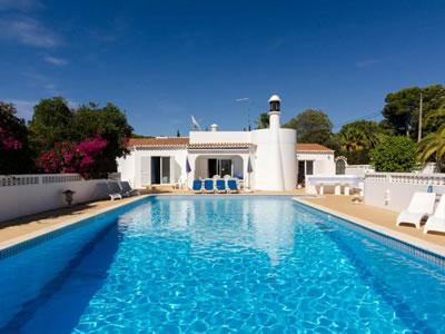 The large pool and surrounding terrace - Vila do Milho - Carvoeiro - rentals