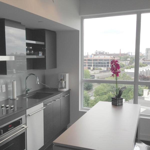 Kitchen - Downtown luxury furnished 2 Bdr condo and parking - Toronto - rentals