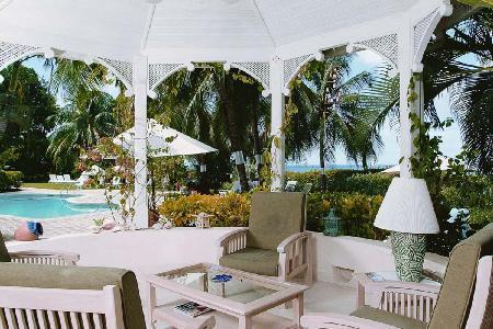 Ocean view Solandra at Emerald Beach (1)- 1 acre of lush gardens with beach access - Image 1 - Barbados - rentals