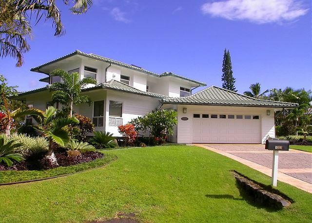 Moana Villa: Spectacular views of Mt. Namolokama & Majestic Waterfalls - Image 1 - Princeville - rentals