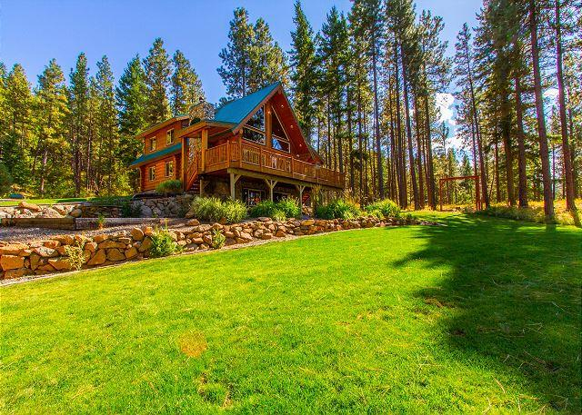 Huge Grass Area - Spring - Summer Specials! Picturesque Log Cabin on 5 Private Acres!  5BR|3BA! - Cle Elum - rentals