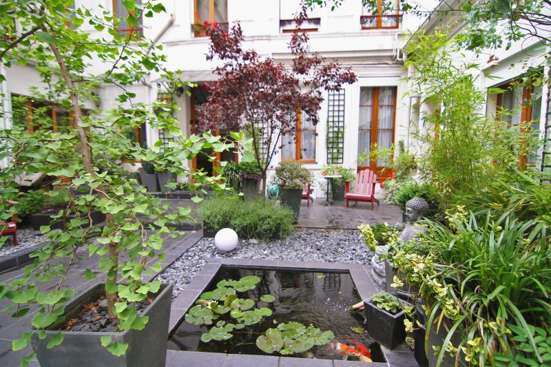 the garden - Like a local in the Heart of Paris - Paris - rentals