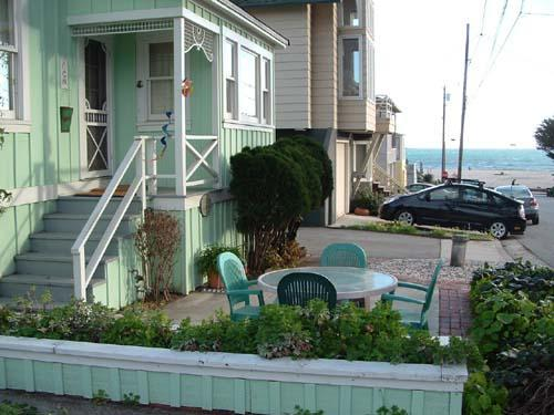 Vicky by The Sea Ocean View from Front Patio Half-Block to the Surf. - 120/Vicky by the Sea *PETS/ WALK TO BEACH* - Santa Cruz - rentals