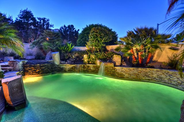 End your day with a nice dip in the beautifully landscaped pool and spa. - Dream home w/ pool, spa, putting green, bikes! - Dana Point - rentals