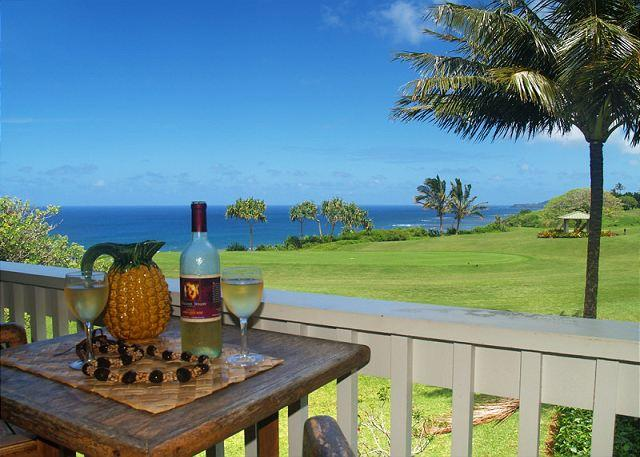 Your view - Kamahana 24: Great view and great price!  2br/2ba near beach paths and golf. - Princeville - rentals
