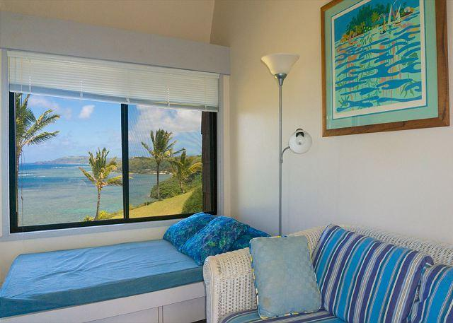 Sealodge E6: oceanfront views all the way to the lighthouse, updated inside - Image 1 - Princeville - rentals