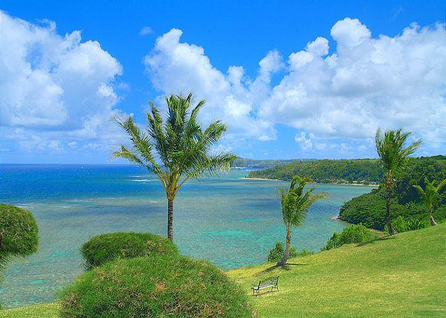 your view! - Sealodge E6: oceanfront views all the way to the lighthouse, updated inside - Princeville - rentals
