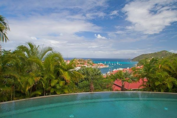 Private estate with panoramic harbor and sunset views WV FAB - Image 1 - Gustavia - rentals