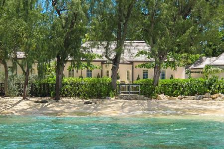Pink Cottage - Peacefully secluded Villa on the beach with pool on Heron Bay private estate - Image 1 - Porters - rentals