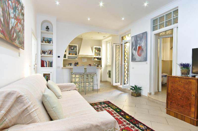 Living Room - Bed & Breakfast Roma Borgo91 - Rome - rentals