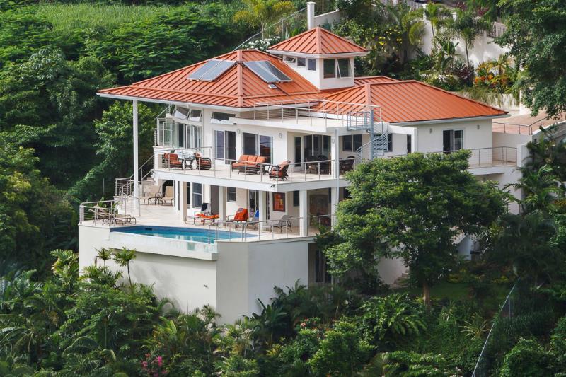 House view - Villa Trou Rolland- Marigot Bay, St Lucia - Marigot Bay - rentals