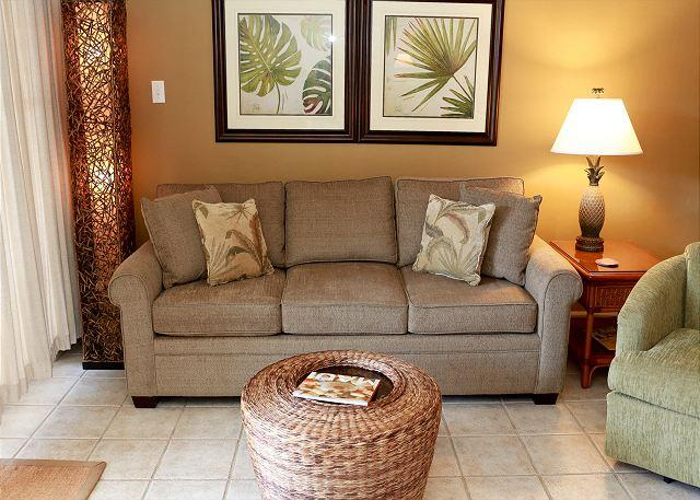 Living Room - Kihei Kai Nani #116 - Across the Street from the Beach. $89 Summer Special! - Kihei - rentals