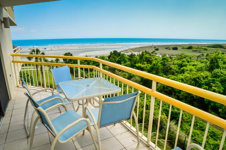 Great beach views from the private balcony - Beachfront @ Ocean Creek Resort, large 3BR condo! - Myrtle Beach - rentals