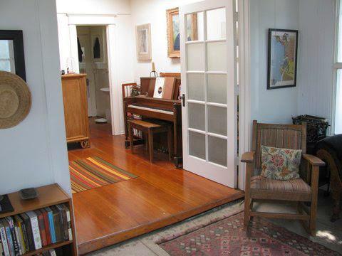 Studio into living room - WRITER'S 2BDR VENICE CRAFTSMAN HOME - Los Angeles - rentals