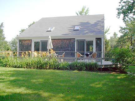 Back Yard - Chatham Cape Cod Vacation Rental (274) - Chatham - rentals