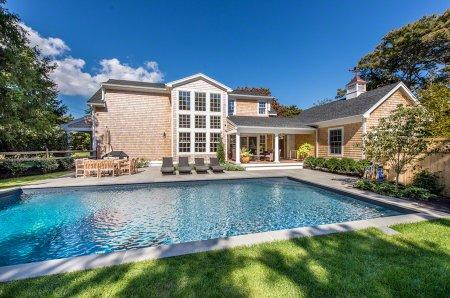 STYLISH KATAMA BEACH HOUSE WITH POOL - KAT TMAT-65 - Image 1 - Edgartown - rentals
