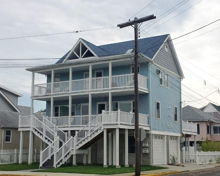 Front of House - 2 BD Beautiful Waterview Beach House by Sandy Hook - Sandy Hook - rentals