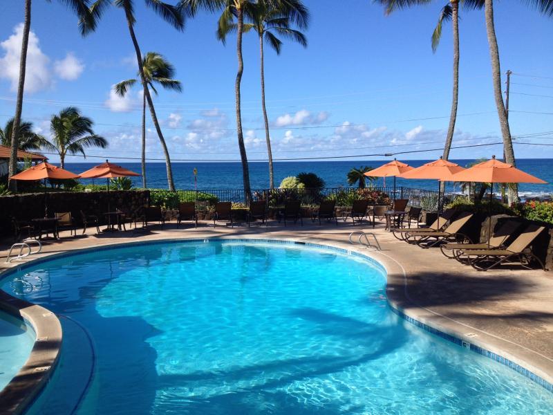 Beautiful Pool at Nihi Kai - Poipu Beach Nihi Kai #802 August Available - Poipu - rentals