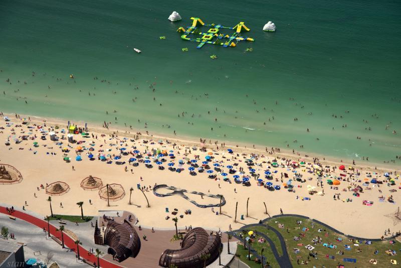 Beach - Jumeirah Beach Residence, Rimal - Dubai - rentals