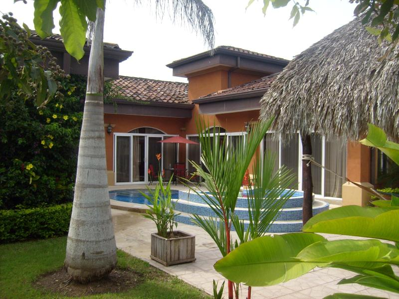 "Backyard - EcoVida ""Privacy"" Home with Pool at Playa Bejuco - Playa Bejuco - rentals"